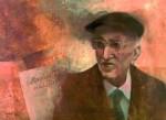 Gyergyai Albert I. 1985 47x34 cm farost, olaj - Nagybajom Könyvtár