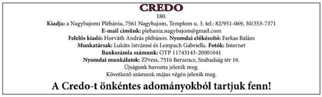 Credo2016.05.