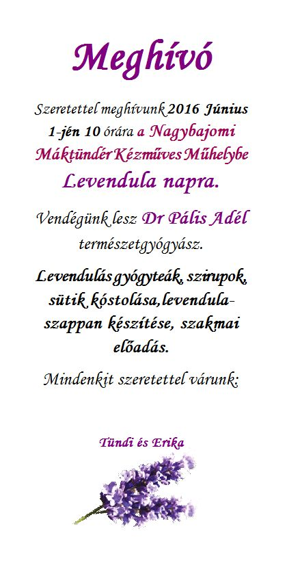 Levendula