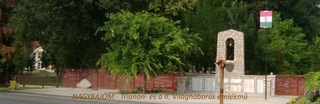 Trianon- és a II.Világháborós emlékmű